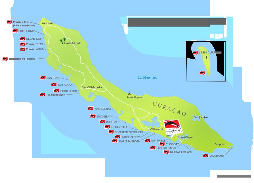 map-curacao